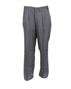 B2AP - Athletic Style Pleated Plate Pants Heather Grey
