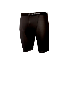 A80B - Black McDavid HDC Deluxe Compression Shorts