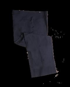 B5 - Premium Navy Plate Slacks with Western Pockets