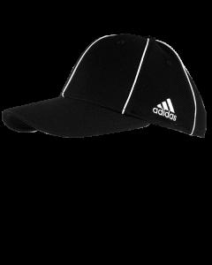 F36ADB - Black Adidas Flexfit Officiaring Caps