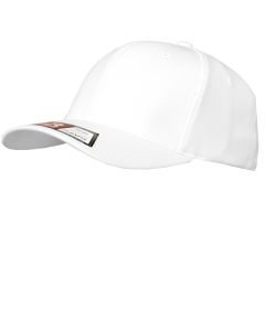 F36W - 'COOL DRY' FLEXFIT Officiating Hat White