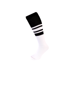 F46 - NCAA/FED Stripe Fitted Socks