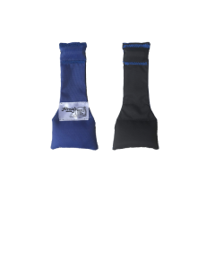 F72BRB - Black/Royal Blue - Nylon Stay-Put Single Bean (F72BRB)