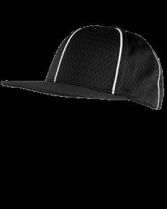 FPM36B - Flexfit Promesh Officiating Cap Black/White