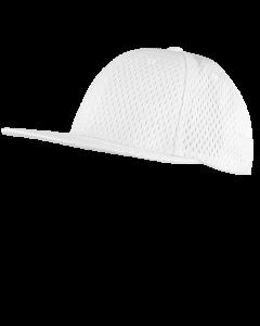 FPM36W - Flexfit Promesh Officiating Cap White