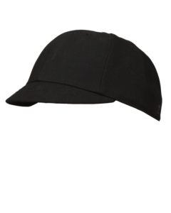 K01B - Black Fitted Plate Hat