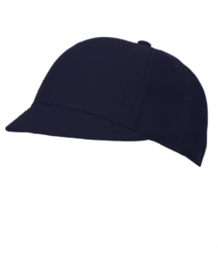 K01N - Navy Fitted Plate Hat