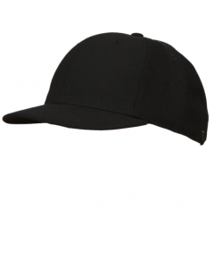 K03B - Black Fitted Combo Hat - 4 Stitch