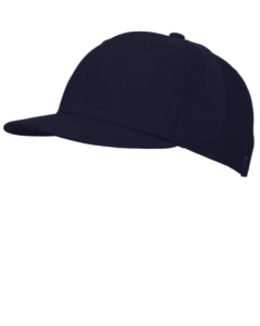 K03N - Navy Fitted Combo Hat - 4 Stitch