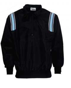 K17PB - Honigs Major League Style Jacket Black with Polo Blue an