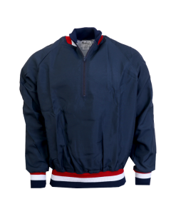 K18A - Pullover - Red/White/Navy Trim