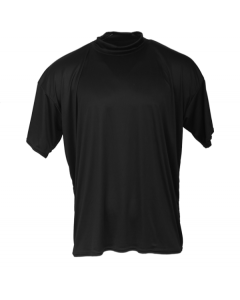K66B - McDavid hDc Short Sleeve Mock Turtleneck Shirt