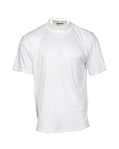 K66W - McDavid hDc Short Sleeve Mock Turtleneck Shirt