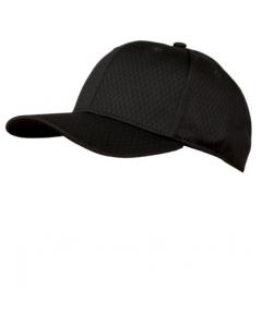 KPM2LB - Black Pro Mesh Baseball Cap 8 Stitch