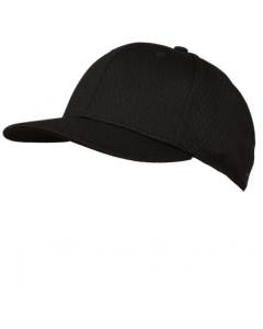 KPM2SB - Black Pro Mesh Baseball Cap 6 Stitch