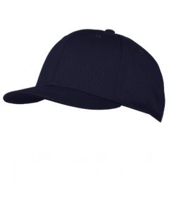KPM3N - Navy Pro Mesh Baseball Combo Cap 4 Stitch