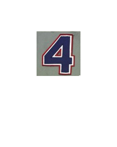 MLT3 - Number navy/white/red