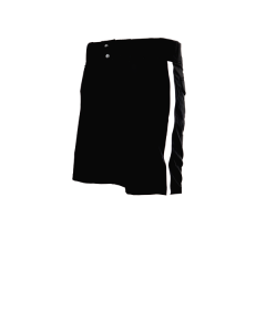 P25 - Lightweight Black Football Shorts