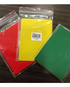 WLAX - Lacrossee Penalty Cards - Red/Yellow/Green