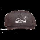 KPM2SB-BEL-Black Pro Mesh Cap 6 Stitch