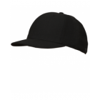 K03B-DBV-Black Fitted Combo Hat-4 Stitch (K03B-DBV)