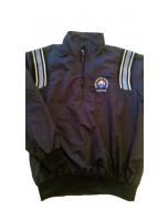 K17-ISA-LB - Honig's Major League Style Jacket Navy/ Light Blue Stripes (ISA)