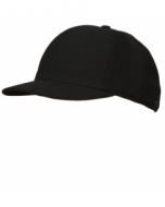 K03B-DBV-Black Fitted Combo Hat-4 Stitch (K03B-DBV)