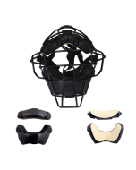 K96 - Single Bar Pro-Line Mask With Calf Skin / Vinyl Tutone Pads (K96)